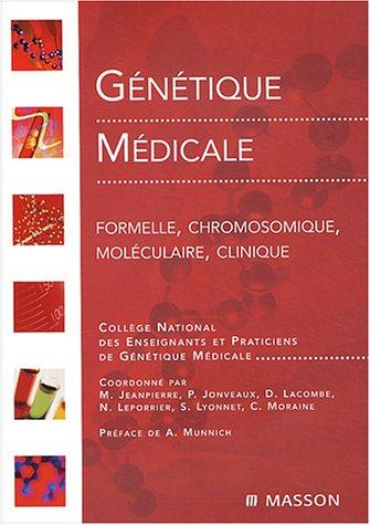 9782294008122: Génétique médicale