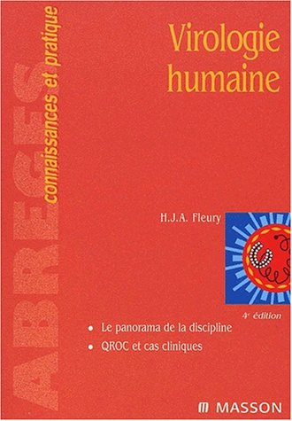 9782294008153: Virologie humaine , 4e édition