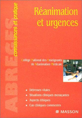 9782294009822: Réanimation et urgences (Abrégés connaissances pratique)