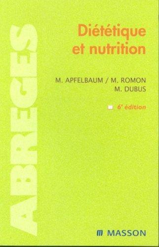 9782294013775: Diététique et nutrition