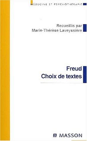 9782294013973: Freud : Choix de textes