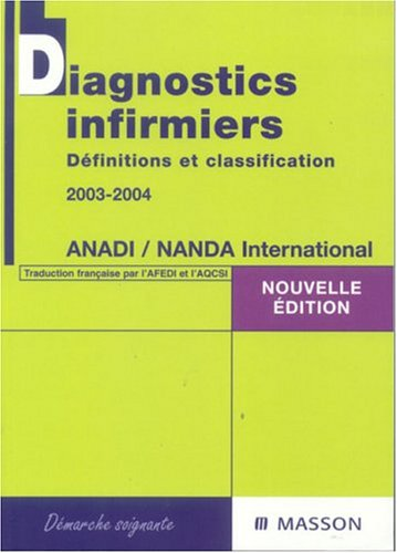 9782294014291: Diagnostics infirmiers : Définitions et classification 2003-2004