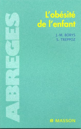 9782294015861: L'obésité de l'enfant (French Edition)