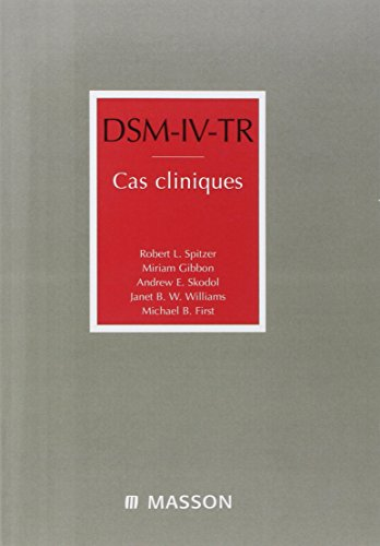 9782294018183: DSM-IV-TR : Cas cliniques
