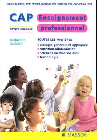 9782294018541: Enseignement professionnel CAP petite enfance