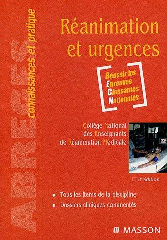 9782294018558: Réanimation et urgences (Abrégés connaissances pratique)