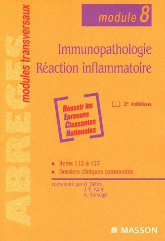 9782294019524: Immunopathologie, Réaction inflammatoire (module 8)