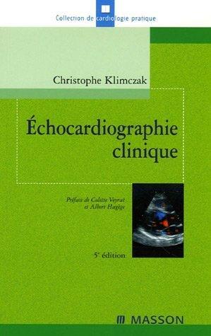 9782294061257: Echocardiographie clinique