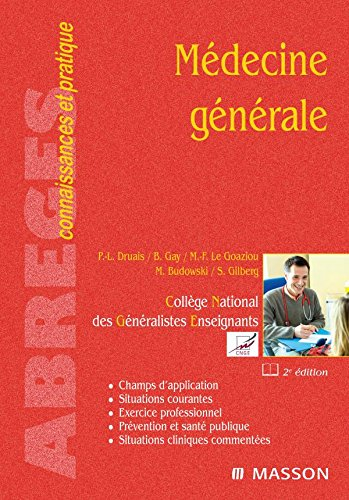 9782294067686: médécine générale (2e édition)