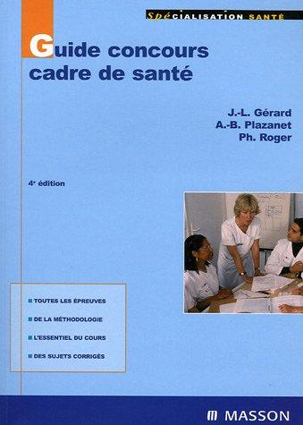 9782294069673: Guide concours cadre de santé