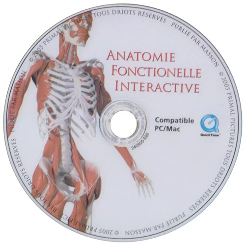 9782294070280: CD Anatomie Foncti Interactive