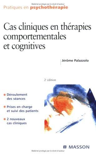 9782294071485: Cas cliniques en thérapies comportementales et cognitives