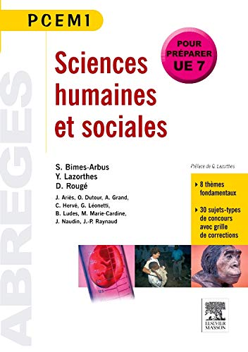 9782294102561: Sciences humaines et sociales (French Edition)