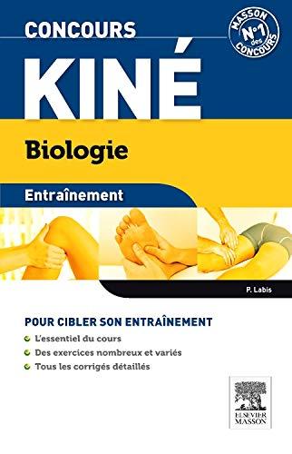 9782294103452: Concours kiné Biologie Entraînement