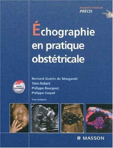 9782294700507: Echographie en pratique obstétricale