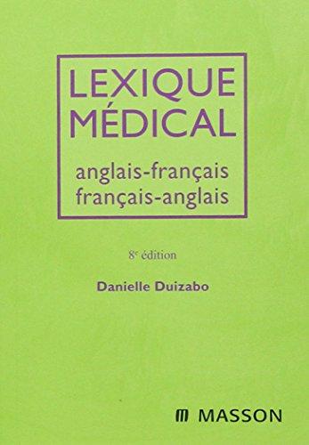 9782294704864: Lexique Medical: Anglais-francais / Francais-anglais (French and English Edition)