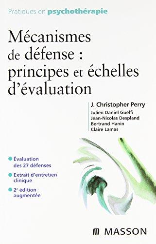 9782294704925: Mécanismes de défense : principes et échelles d'évaluation