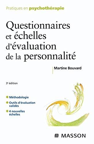 9782294705472: Questionnaires et échelles d'évaluation de la personnalité