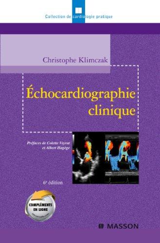 9782294706059: échocardiographie clinique (6e édition)