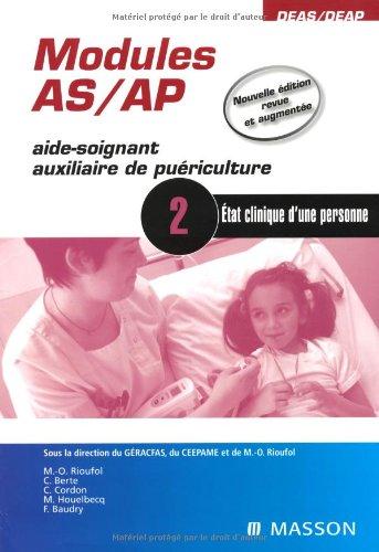9782294707728: Module 2 AS/AP (aide-soignant auxiliaire de puériculture) (French Edition)