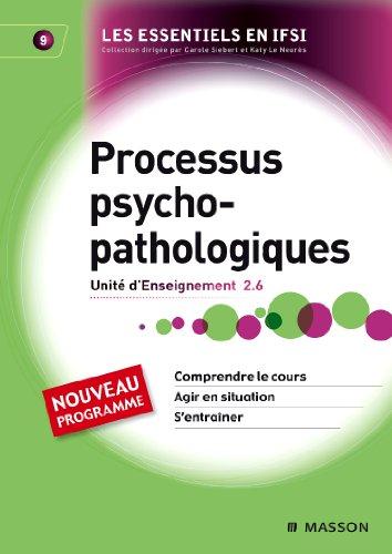 9782294707834: Processus psychopathologiques - UE 2.6 - Tome 9