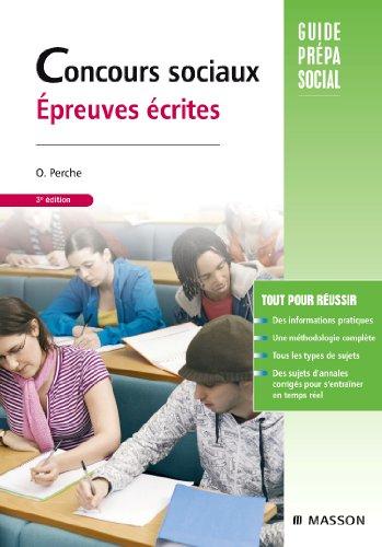 9782294707957: Concours sociaux : Epreuves écrites