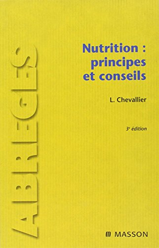 9782294708176: Nutrition (French Edition)