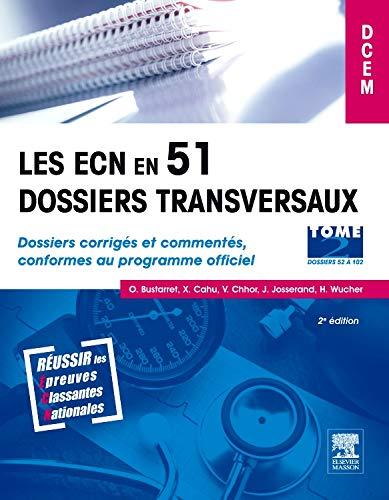 9782294708824: Ecn en 51 dossiers transversaux tome 2
