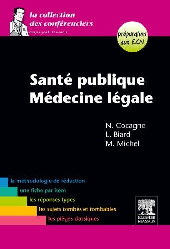 9782294709999: Santé publique-Médecine légale