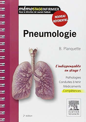 9782294712555: Pneumologie (Memo Infirmier) (French Edition)