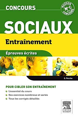 9782294713101: Entraînement concours sociaux. Epreuves écrites - ASS.ES.EJE.AMP.ME