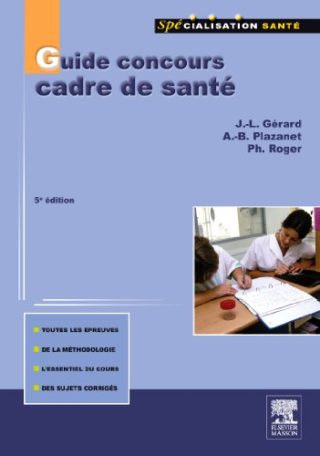 9782294713118: Guide Concours Cadre Sante Cinquième ed