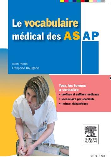 9782294713132: Le Vocabulaire Medical Des AS/AP (French Edition)