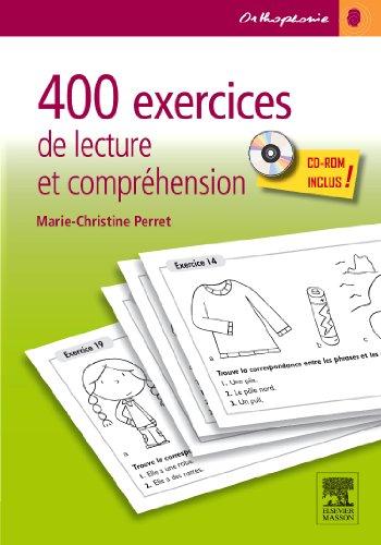 9782294714627: 400 exercices de lecture et compréhension