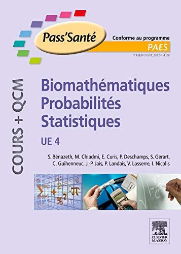9782294715266: Biomathématiques-Probabilités-Statistiques : UE4
