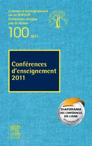 9782294715341: conférences d'enseignement (édition 2011)