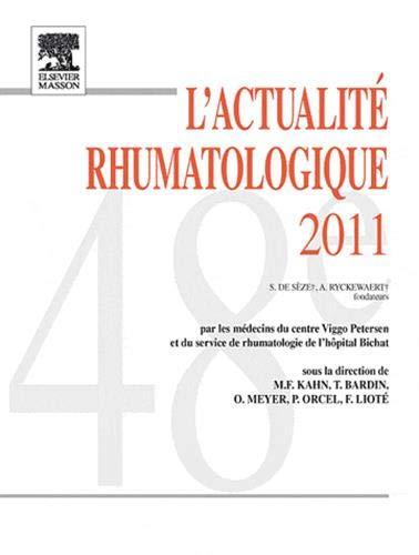 L'Actualité rhumatologique 2011: POD: Marcel-Francis Kahn; Thomas