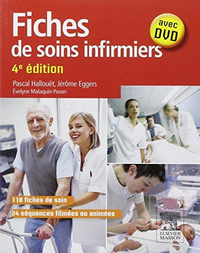9782294719264: Fiches de soins infirmiers: Avec DVD