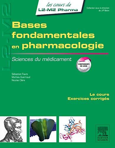 9782294719578: Bases fondamentales en pharmacologie: Sciences du médicament