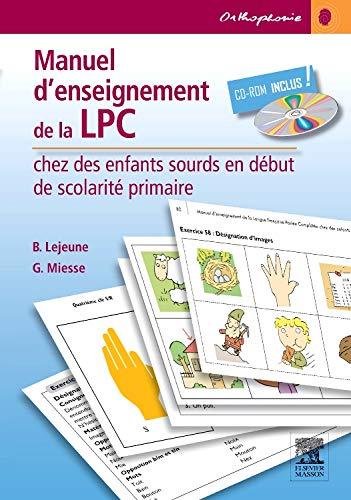 Manuel d'enseignement de la LPC chez des: Brigitte Lejeune; Gabrielle