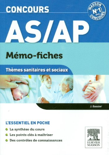9782294726774: Concours AS/AP M�mo-Fiches Th�mes sanitaires et sociaux