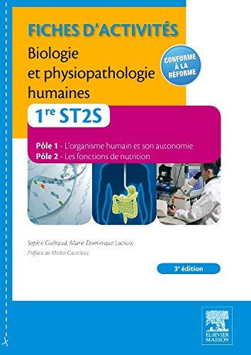 9782294729447: Fiches d'activités Biologie et physiopathologie humaines 1re ST2S 3E