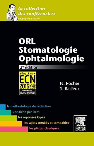 9782294731341: ORL-Stomatologie-Ophtalmologie