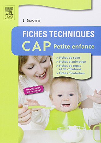 9782294734410: Fiches techniques CAP petite enfance