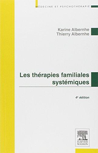 9782294735295: Les thérapies familiales systémiques (Médecine et psychothérapie)