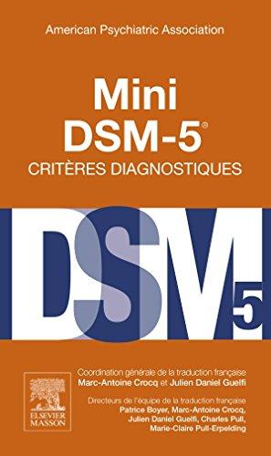 9782294739637: Mini DSM-5 Critères Diagnostiques