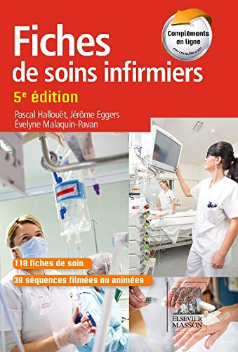 9782294743344: Fiches de soins infirmiers: Avec site Internet