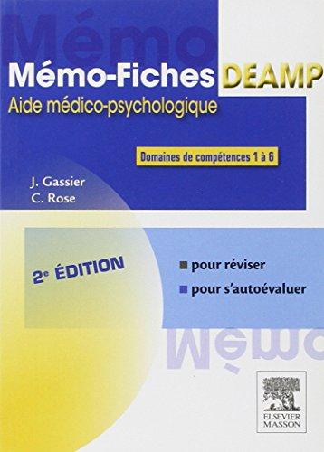 9782294744853: Mémo-fiches DEAMP: Aide médico-psychologique