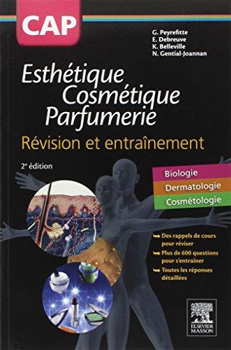 9782294745089: CAP Esthétique Cosmétique Parfumerie. Révision et entraînement