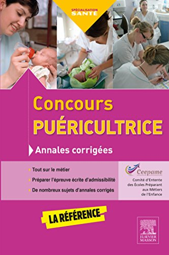 9782294749087: CONCOURS PUERICULTRICE ANNALES COR. 4ED